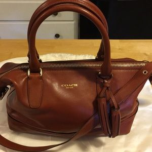 Coach Legacy Molly leather satchel